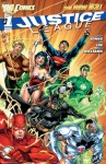 DC Comics Justice League New 52 1 Cover