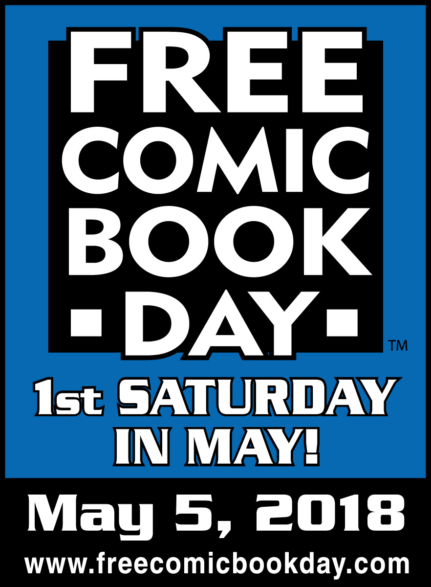 Free Comic Book Day 2018 May 5th 2018